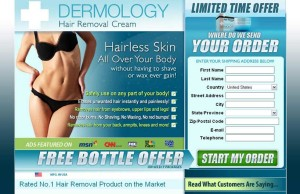 dermology hair removal creams