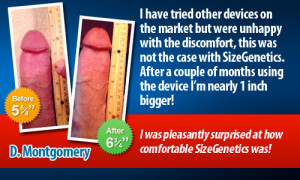 sizegenetics penis extender testimonial