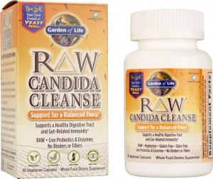 raw candida cleanse 60-vegetarian capsules review